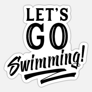 Swimmer Swimming swimmer swimmer - Sticker