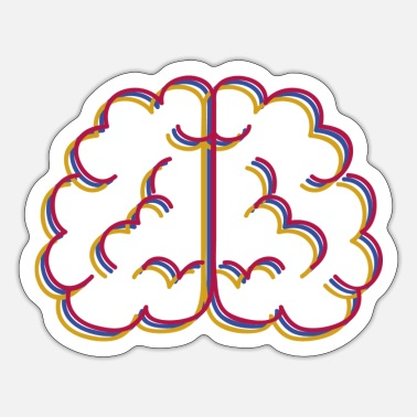 Brain Brain brain - Sticker