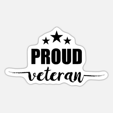 Veteran Military Veteran Veterans Veteran Veterans Day - Sticker