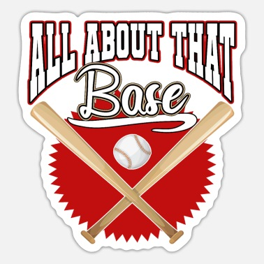 Baseball Bat Baseball bat baseball - Sticker