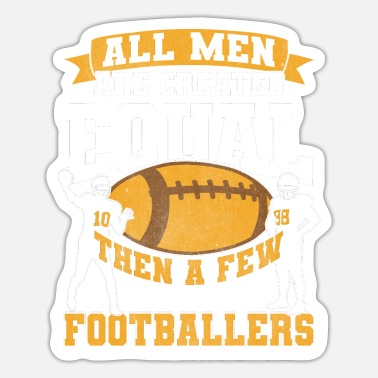 Football American Football Footballer Football Player - Sticker