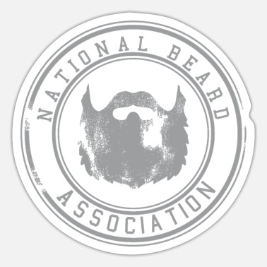 Association National Beard Association / Vintage - Sticker