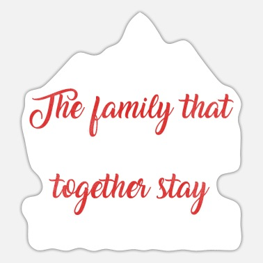 Familie Family trip Family vacation Family - Sticker