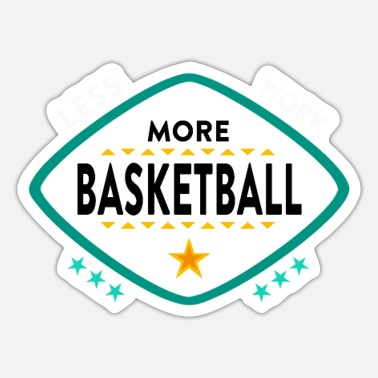basketball - Sticker