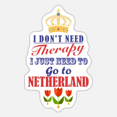 Holland Holland Holland - Sticker