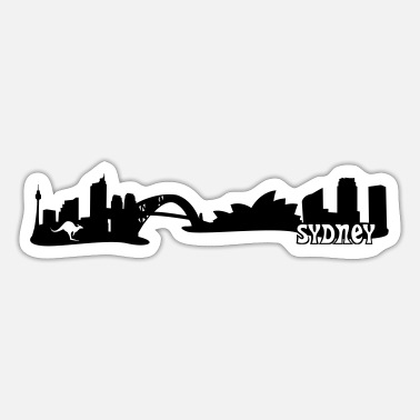Harbour Sydney Skyline - Sticker