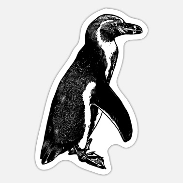 Penguin emperor penguin arctic south pole snow - Sticker