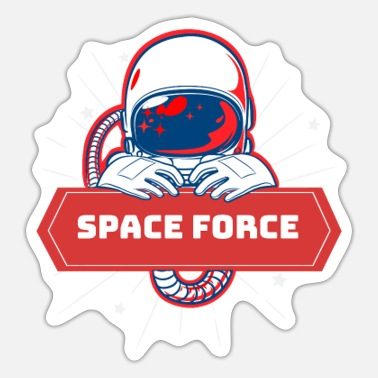 Space Force USA Space Force Astronaut - Sticker