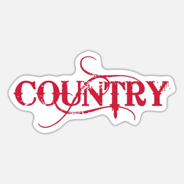 Country Country - Sticker