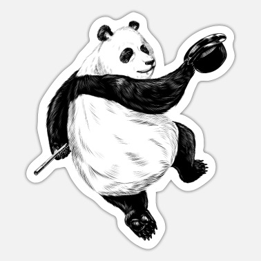 Prancing Dancing Panda - Sticker
