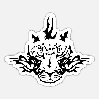 Tribal tribale luipaard - Sticker