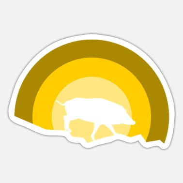 Boar Boar boar Boar - Sticker