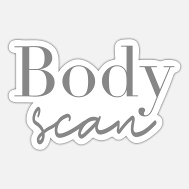 Body Body scan body fitness - Sticker