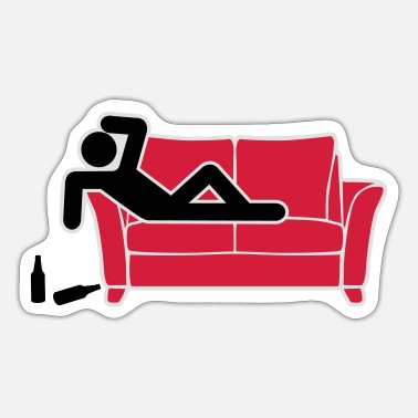 Drunk Hangover Pictogram drunk hangover pictogram - Sticker