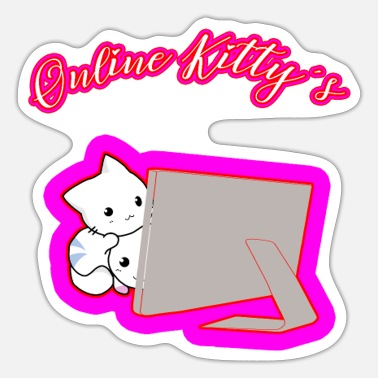 Online Online Kitty's - Sticker