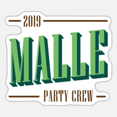 Malle Party Crew 2019 - Sticker
