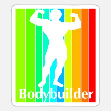 Wretch Bodybuilder Bodybuilding - Sticker