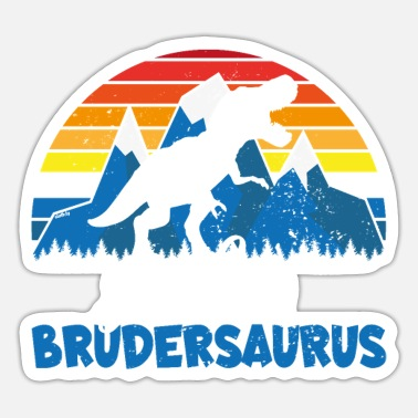 Brothersaurus T Shirt Big Brother Dino Brothersaurus - Sticker