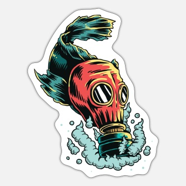 Gas Mask gas mask - Sticker