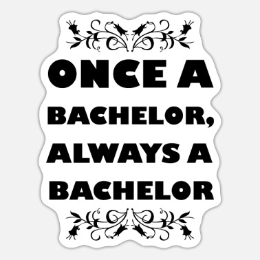 Bachelor Bachelor - Sticker