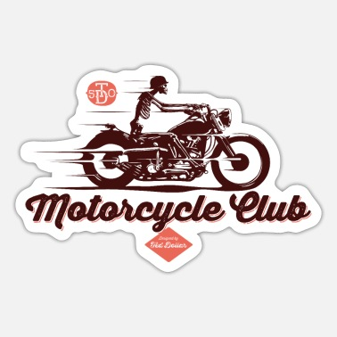 Motorcycle Club Motorcycle Club - Pegatina