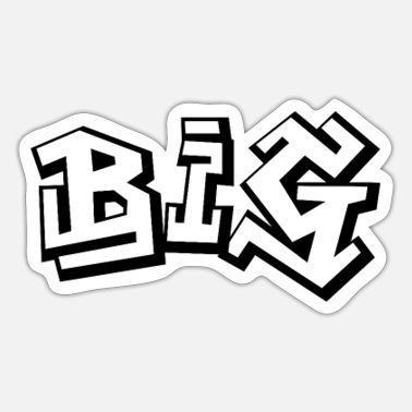 Big BIG - Sticker