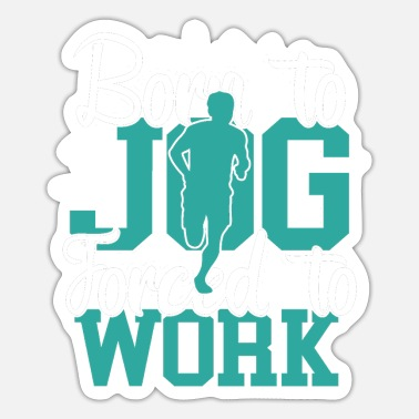 To Jog Jogging Jogging - Sticker