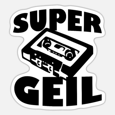 Supergeil Supergeil - Sticker