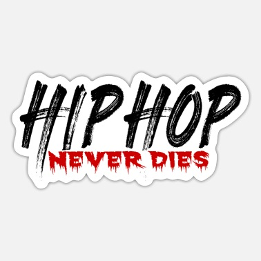 Rapper Hip Hop rap rappere - Sticker
