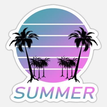 Feeling Feel the Summer - Feel the summer - Sticker