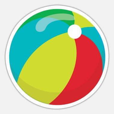 Ball ball - Sticker