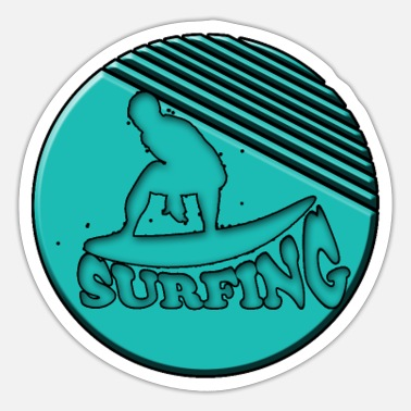 Surfing SURFING - surfing - Sticker