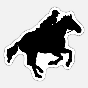 Galopp galopper - Sticker