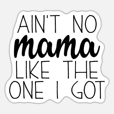 Sweet Saying Sweet saying on Mother's Day - for the best mom - Sticker