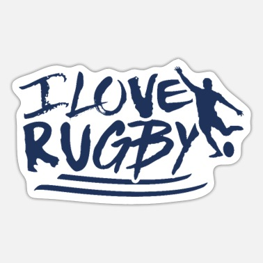 Rugby Rugby Ball Rugby Rugby Match Rugby Player Team - Sticker