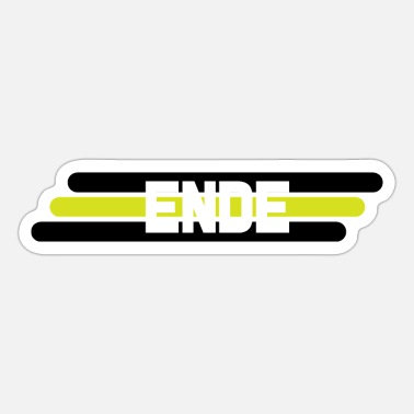 Ende ENDE - Sticker