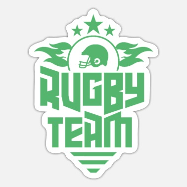 Rugby Rugby Rugby Rugby Match Ball - Sticker