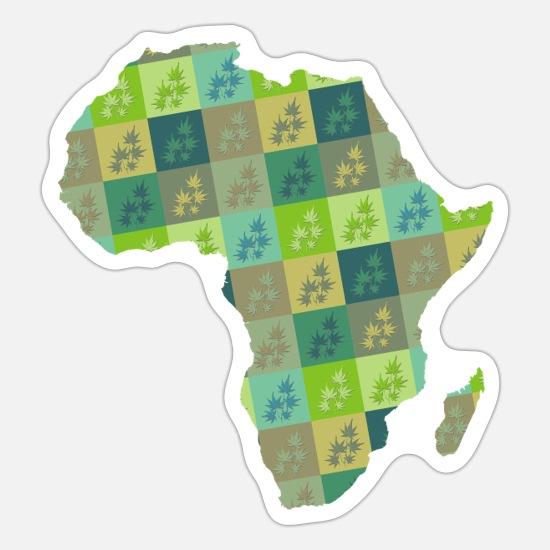 Cartina Muta Marocco.Cartina Muta Africa 8 Adesivo Spreadshirt