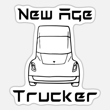 New Age New Age Trucker - Sticker