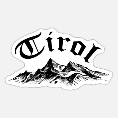 Tirol Tirol - Sticker