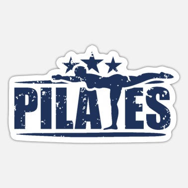 Übung Pilates Übungen - Sticker