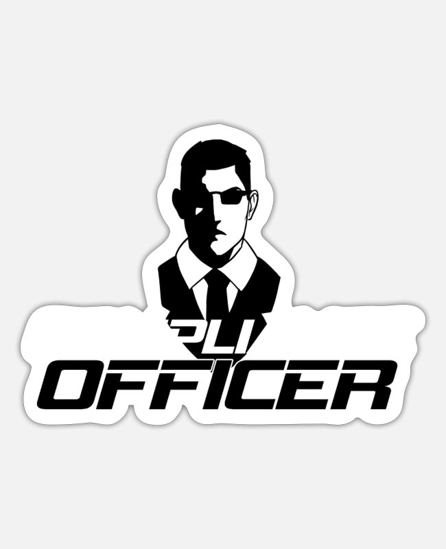 Office Stickers - Compliance Officer - Sticker white mat