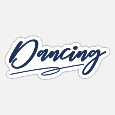 Danser danser - Sticker