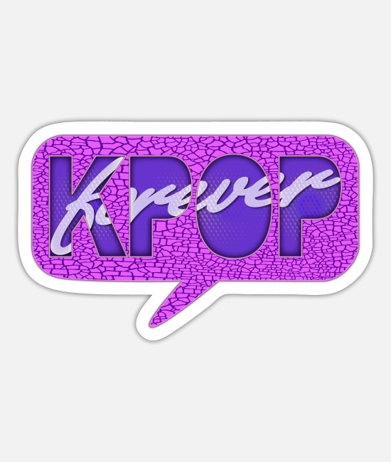 Army Stickers - K-Pop Forever - Sticker white mat