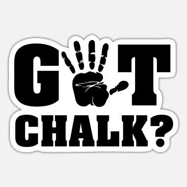 Chalk Got chalk? - Sticker