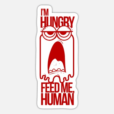 Hunger Monster hunger - Sticker