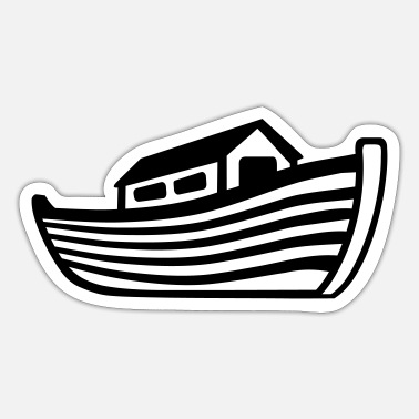 Ark Ark Noas - Sticker