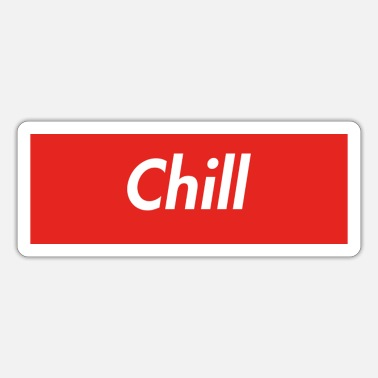 Chill Chill - Sticker
