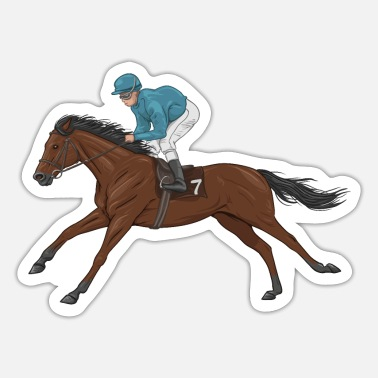 Jockey Jockey - Sticker