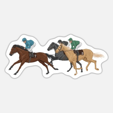 Jockey Jockeys - Sticker